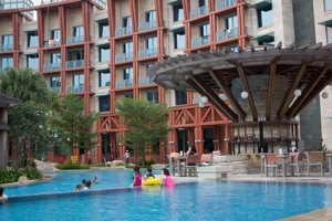 Hard Rock Hotel pool bar