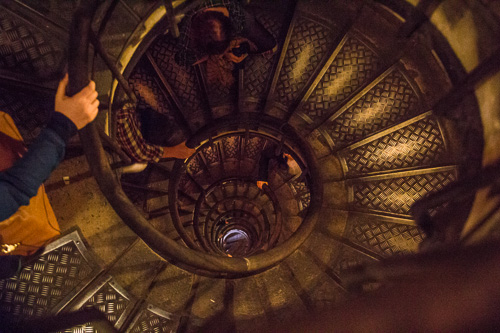 Paris Arc De Triomphe Stair Climb