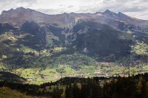 Jungfrau valleys