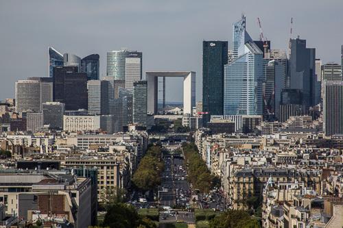 Paris Arc De Triomphe view 4