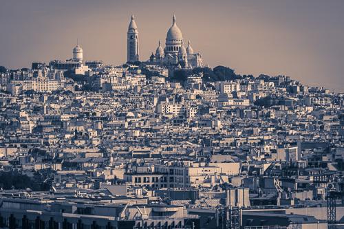 Paris Arc De Triomphe view 5