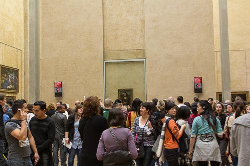 Paris Louvre - Mona Lisa