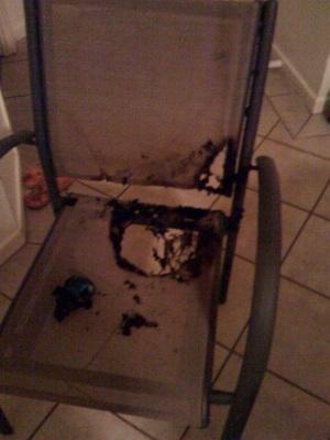Burnt Chair